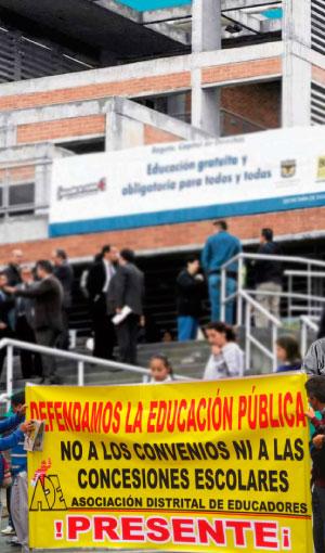 Cinco estocadas neoliberales de las concesiones  a la educación pública