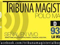 Programa Radial de Tribuna Magisterial, abril 12 de 2015