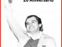 Conmemoración del 20 aniversario de Francisco Mosquera y 15 de Felipe Mora