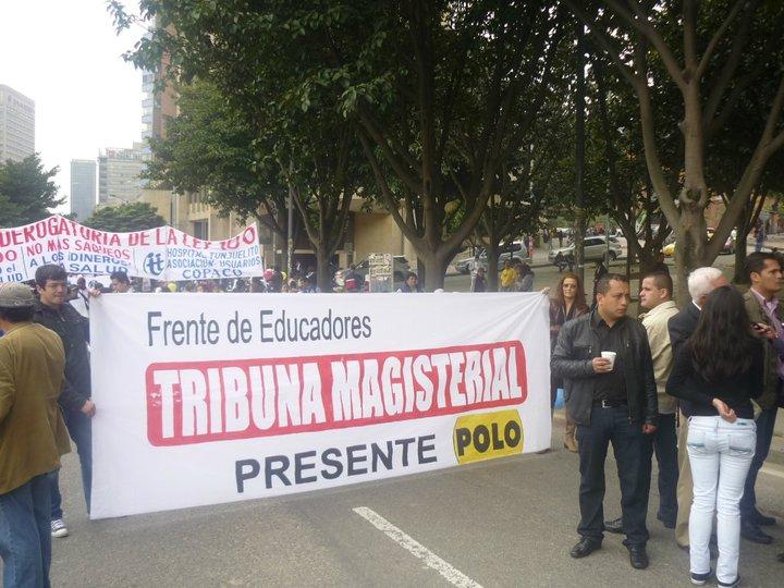 MOVILIZACIÓN NACIONAL DEL MAGISTERIO EL 6 DE NOVIEMBRE CONTRA LA POLÍTICA EDUCATIVA DE SANTOS