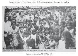 En conmemoración a la primera huelga de mujeres