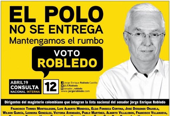 ABRIL19 CONSULTA NACIONAL INTERNA DEL POLO DEMOCRÁTICO ALTERNATIVO