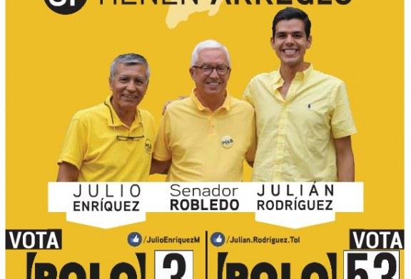 Listas del POLO DEMOCRÁTICO ALTERNATIVO  en Tolima