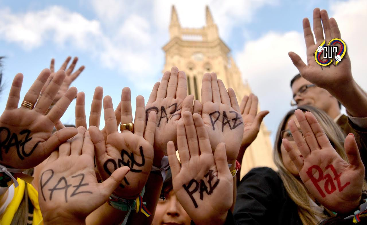 La CUT saluda el premio Nobel de Paz al presidente de Paz e insta al gobierno a llegar a un pronto acuerd