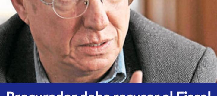 Procurador debe recusar al Fiscal en el caso Odebrecht: Robledo