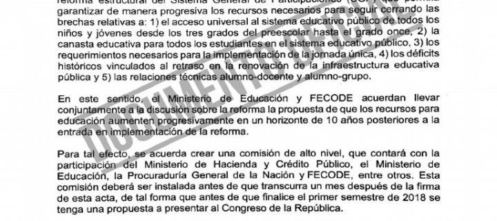 Gobierno Santos incumple en financiación, decretos, orientadores y alimentación