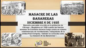 Masacre de las Bananeras y matanza de Iquique