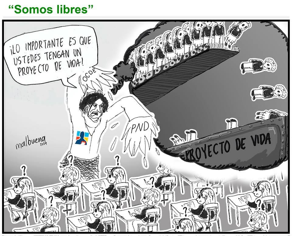 El Plan Nacional de Desarrollo una reforma contra la educación colombiana